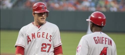 Mike Trout is a perennial American League MVP candidate. [Image Source: Flickr | Beth Tenser]