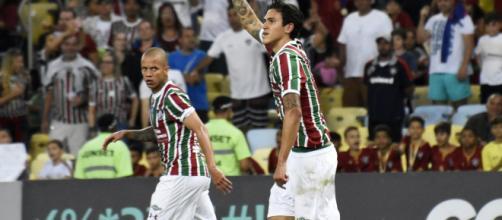 Pedro se aproxima de retorno ao Fluminense (Foto: Reprodução)