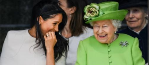 Queen Elizabeth gave International Women's Day gift to Meghan Markle before she hospitalized. [Image source/CNN NEWDAY YouTube video]