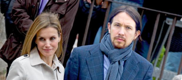 Letizia y Pablo Iglesias en imagen