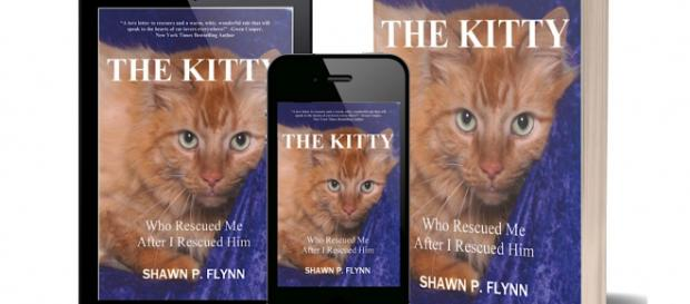 """""""THE KITTY"""" is a book by author Shawn Flynn about the cats he has rescued. / Image via Shawn Flynn, used with permission."""