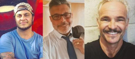 Thammy Miranda, Alexandre Frota e Mateus Carrieri (Foto: Reprodução/Instagram)