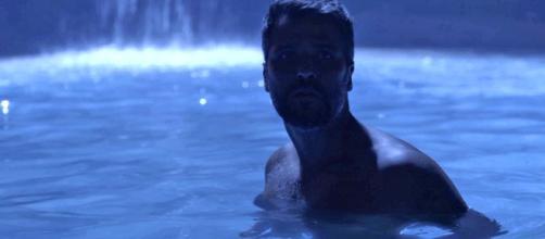 Fonte seca em Serro Azul (Reprodução TV Globo)
