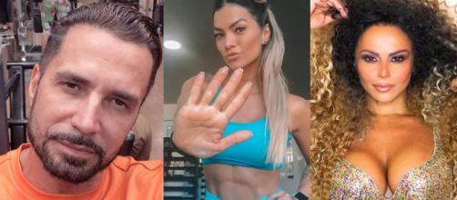 Latino, Kelly Key e Viviane Araújo (Foto - Instagram)