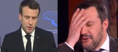 Lo spot di Macron fa discutere per il fatto che inserisca Matteo Salvini tra i nemici