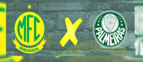 Mirassol x Palmeiras ao vivo. (Foto: Reprodução/Facebook Mirassol)