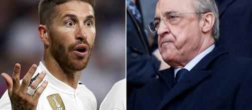 Real Madrid chief Florentino Perez 'threatened to kick Sergio ... - dailymail.co.uk