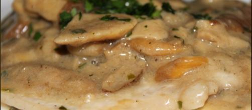 Ricetta scaloppine ai funghi porcini.