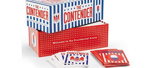 'The Contender' is a new card game released by Golden Bell Studios. / Images via Justin Robert Young and John Teasdale, used with permission.