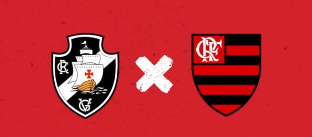 Vasco x Flamengo ao vivo (Reprodução Facebook Oficial Flamengo)