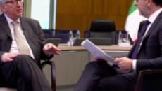 Juncker critica l'Italia sulla crescita: 'I livelli stimati erano imprecisi, lo sapevamo tutti'
