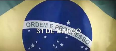 É divulgado vídeo em defesa do golpe de 1964 (Reprodução:Twitter/Eduardo Bolsonaro)