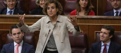 Pablo Casado anuncia que Dolors Montserrat será su cabeza de lista en Europa