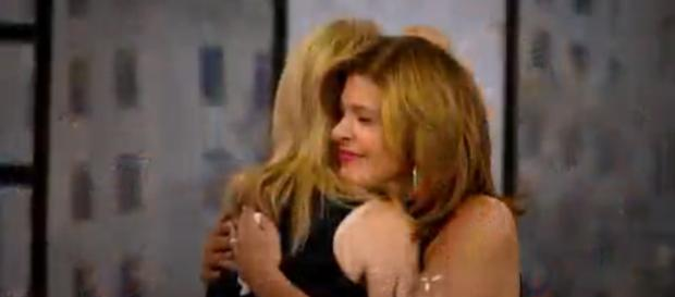 On their last Monday as co-hosts, Kathie Lee Gifford presents Hoda Kotb with a precious gift. [Image source: TODAY- YouTube]