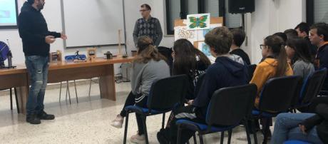 Lezione sull'energia elettrica a Favignana