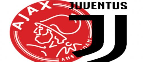Ajax-Juventus - loghi due squadre