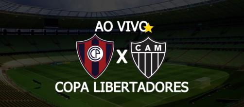Cerro Porteño x Atlético-MG ao vivo. (Fotomontagem/Diogo Marcondes)