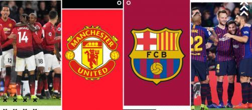 Champions League, Manchester United-Barcellona- fonte: goal.com