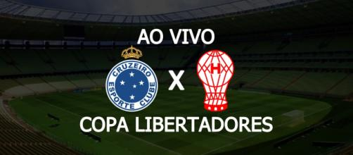 Cruzeiro x Huracán ao vivo pela Libertadores. (Fotomontagem/Diogo Marcondes)