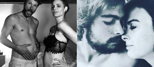 Fernanda Lima revelou ter 'intimidade com hiperêmeses'. (Reprodução/Instagram/@fernandalimaoficial/@tatawerneck)