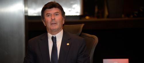 Luiz Fux defende mandato de 10 anos para ministros do STF. (Arquivo Blasting News)