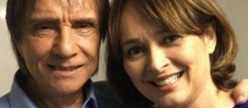 Myrian Rios revela por que se separou de Roberto Carlos. (Arquivo Blasting News)