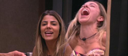 Paula e Hariany são as favoritas do público. (Reprodução/TV Globo)