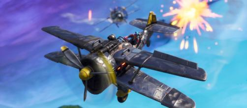 Planes are coming back to Fortnite. Image: Game screenshot | own work