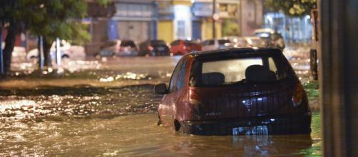 Temporal no Rio causa alagamento e destruição. (Arquivo Blasting News)