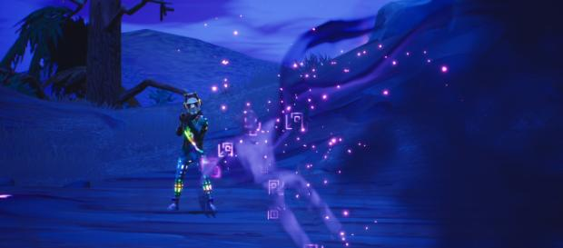 Fortnite new game files reveal Shadow Bomb item. [Image Source: in-game screenshot]