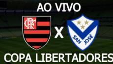 Flamengo x San José: transmissão do jogo ao vivo, nesta quinta, às 21h, no Facebook