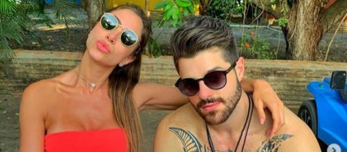 Alok e Romana Novaes. (Reprodução/Instagram/@Alok)