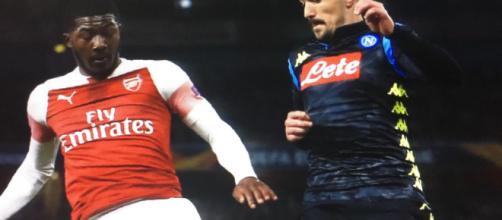 Europa League, Arsenal-Napoli 2-0: gol di Ramsey e autorete di Koulibaly