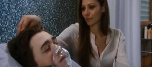Oscar on 'GH.' - [General Hospital / YouTube screencap]