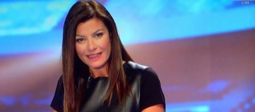 Ilaria D'Amico fa arrabbiare i tifosi del Napoli