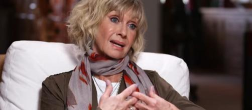 International star Olivia Newton-John uses oil from cannabis plant for healing from cancer. - [FREDERIC GENEVA / YouTube screencap]