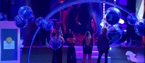 Os participantes se emocionaram durante a festa. (Reprodução/ TV Globo)