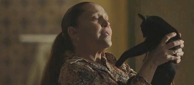 Judith verá sinal no corpo de Feijão. (Reprodução/Rede Globo)