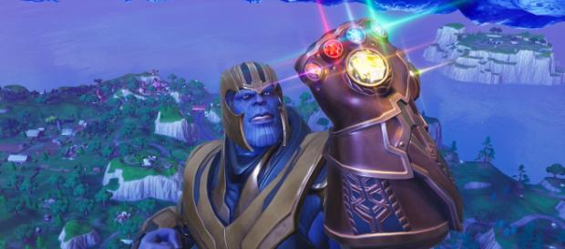 Thanos is coming back to Fortnite. [Image source: In-game screenshot]