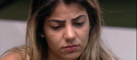 Hariany recebe declaração do irmão (Reprodução/TV Globo)