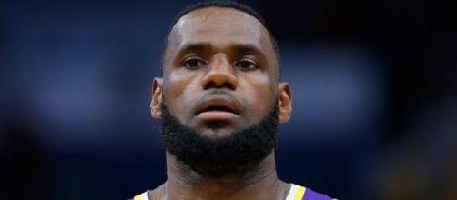 LeBron James is ready to move on past the Lakers' 2018-19 season with goals in mind. - [NBA on ESPN / YouTube screencap]