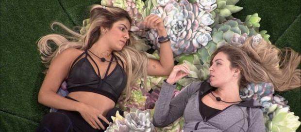 Perfil de Paula faz declaração em relação a Hariany (Reprodução/Tv Globo)
