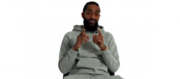 The power behind Nipsey Hussle's real name as it relates to his life. [Image source: Pitchfork / YouTube]