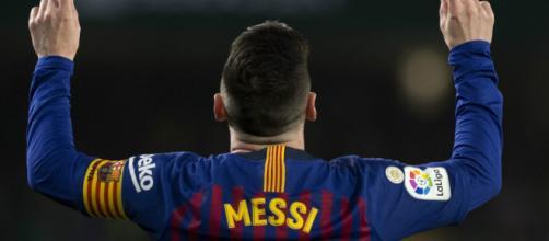 Lionel Messi é o maior artilheiro do Barcelona. (Arquivo Blasting News)