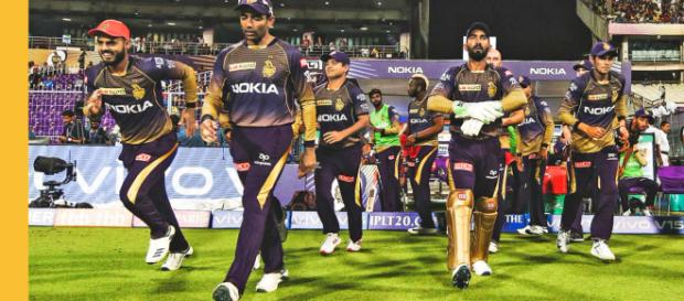 IPL Points Table 2019: Chennai Super Kings lead with 12 points (Image via KKR/Youtube)
