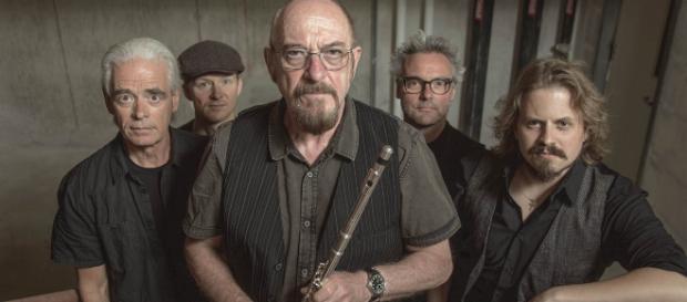 Jethro Tull: al centro il frontman Ian Anderson