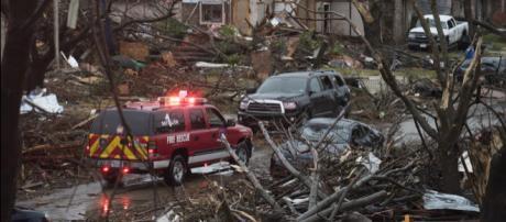 Comienza recuperación tras tornados en Texas. - americatevepr.com