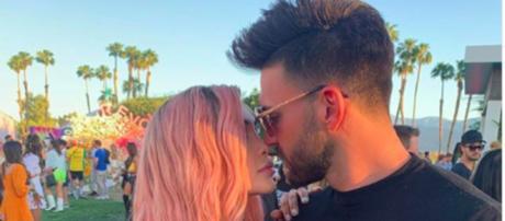 Nabilla dévoile sa nouvelle coiffure à Coachella en compagnie de Thomas Vergara