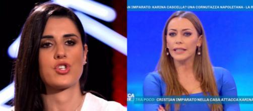 GF: la Vignali non crede alle coppie gay, Karina risponde a Cristian: 'devi stare attento'