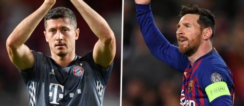 Le classement des buteurs en Europe : Lewandowski et Messi en leaders